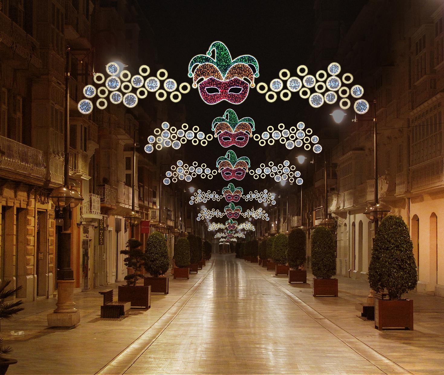 1 Elecfes Iluminaciones Carnaval