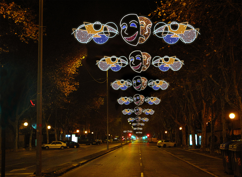 3 Elecfes Iluminaciones Carnaval