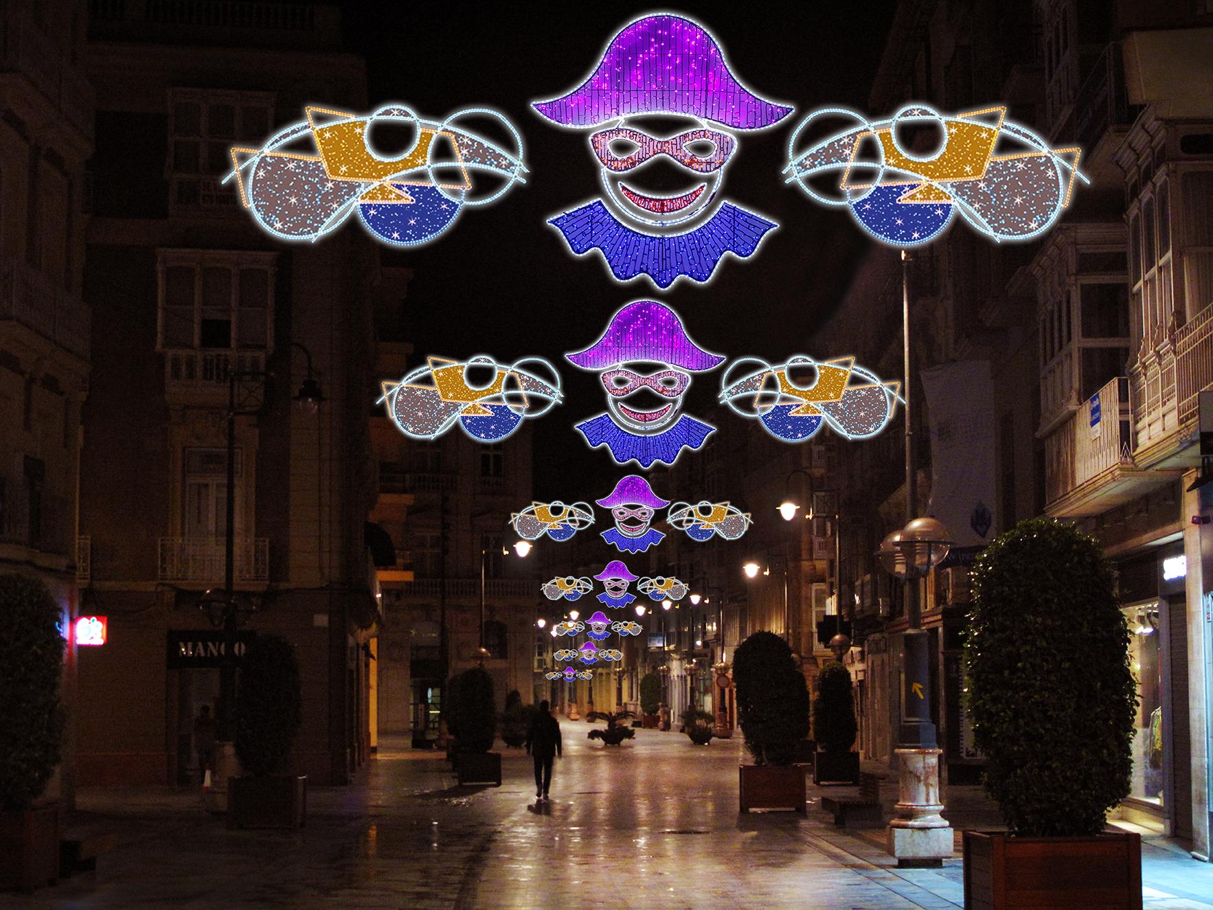 4 Elecfes Iluminaciones Carnaval