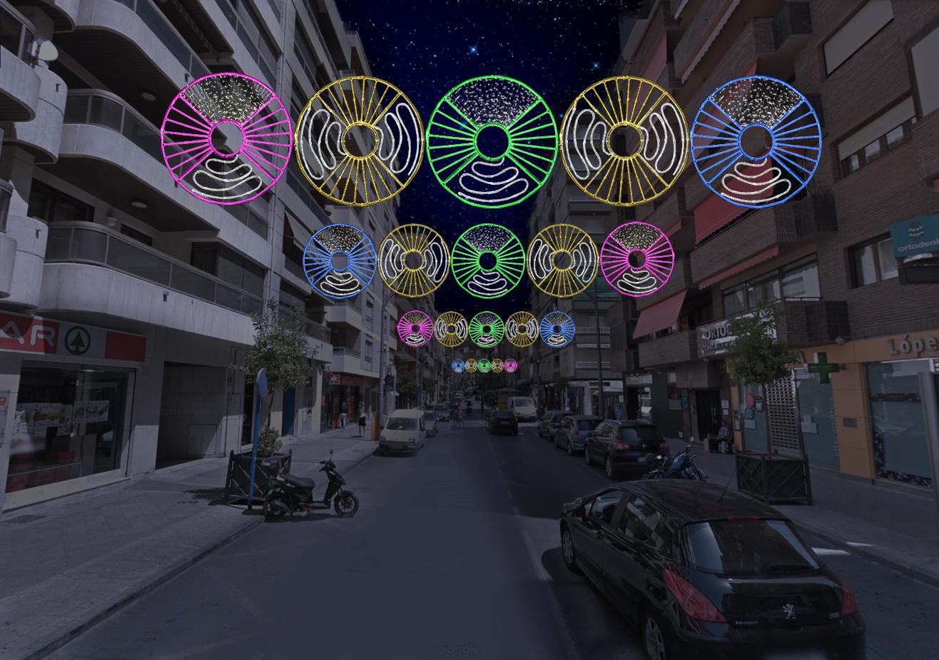 Elecfes Iluminaciones Fiesta 2
